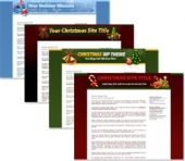 Christmas Themed Minisites and Wordpress Themes Private Label Rights