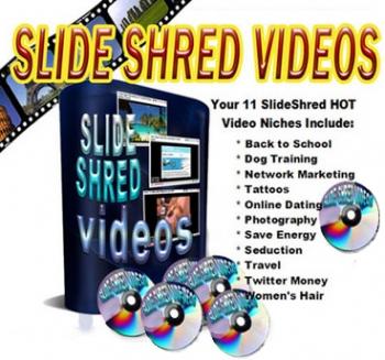 Slide Shred Videos