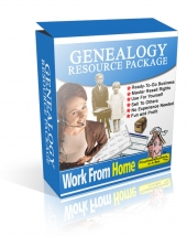 Genealogy Resource Package Private Label Rights