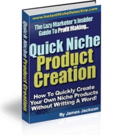 Quick Niche Product Creation Private Label Rights