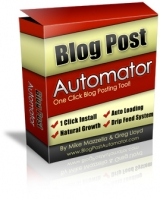Blog Post Automator Private Label Rights