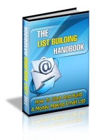 The List Building Handbook Private Label Rights