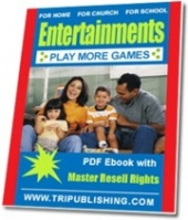 Entertainments For Home, Church And School Private Label Rights