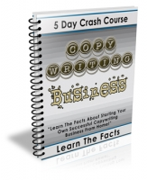 5 Day Crash Course Copywriting Business Private Label Rights