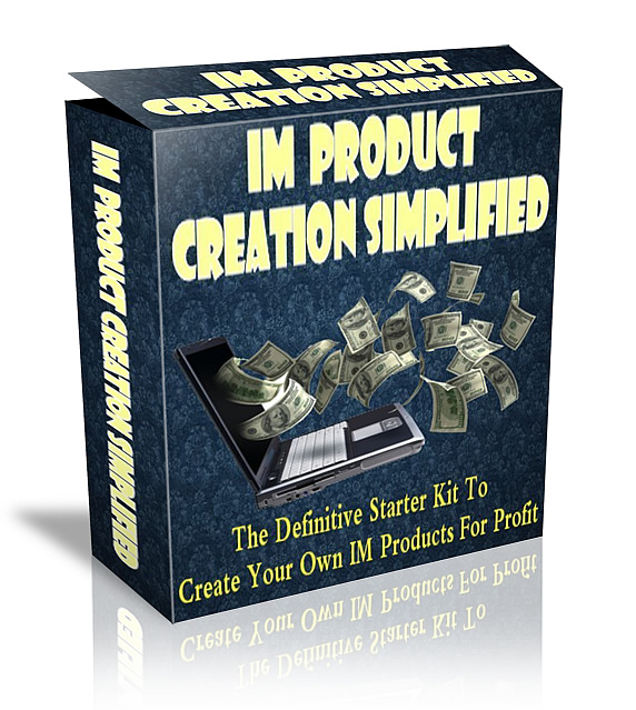 IM Product Creation Simplified