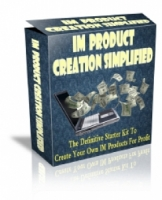 IM Product Creation Simplified Private Label Rights