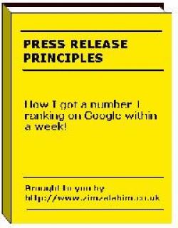 Press Release Principles