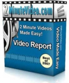 2 Minute Videos Made Easy : Video Report Private Label Rights