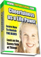 Cheerfulness as a Life Power Private Label Rights