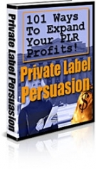 Private Label Persuasion Private Label Rights