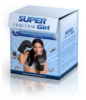 Super Help Desk Girl Private Label Rights