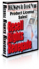 Resell Rights Renegade Private Label Rights