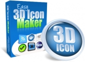 Easy 3D Icon Maker Private Label Rights