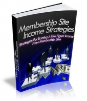 Membership Site Income Strategies Private Label Rights