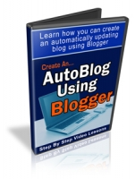Create An AutoBlog Using Blogger Private Label Rights