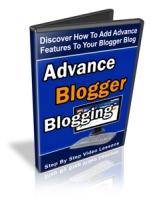 Advanced Blogger Blogging Private Label Rights