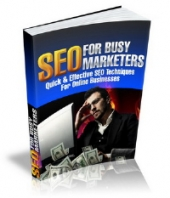 SEO For Busy Marketers Private Label Rights