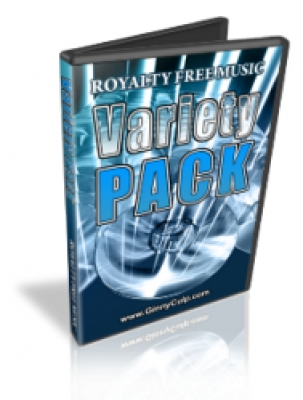 Royalty Free Music Variety Pack