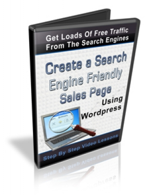Create A Search Engine Friendly Sales Page Using Wordpress