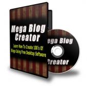 Mega Blog Creator Private Label Rights