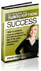 11 Steps To Subscription Success Private Label Rights