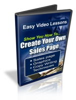 Create Your Own Sales Page Private Label Rights