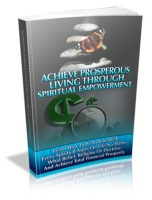 Achieve Prosperous Living Through Spiritual Empowerment Private Label Rights