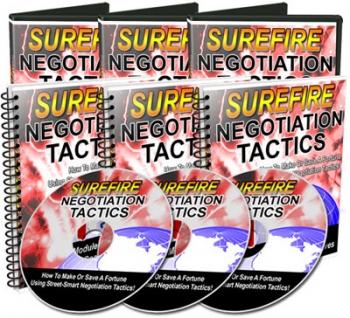 Surefire Negotiation Tactics