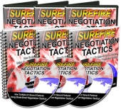 Surefire Negotiation Tactics Private Label Rights