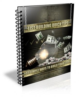 List Building Quick Tips