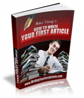 How To Write Your First Article Private Label Rights