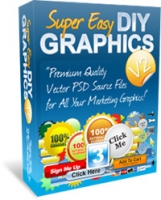 Super Easy DIY Graphics V2 Private Label Rights