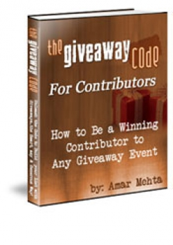 The GiveAway Code For Contributors