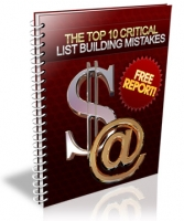 The Top 10 Critical List Building Mistakes Private Label Rights