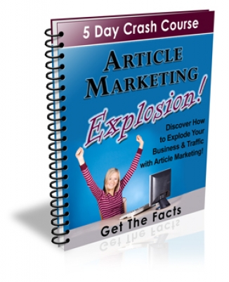 Article Marketing Explosion!