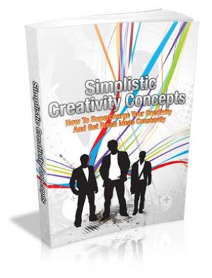 Simplistic Creativity Concepts