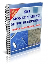 20 Money Making Music BluePrints Private Label Rights