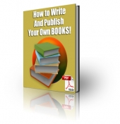 How To Write And Publish Your Own Books! Private Label Rights