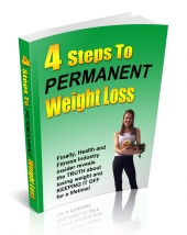 4 Steps To Permanent Weight Loss Private Label Rights