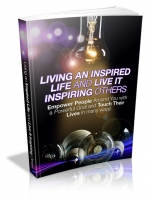 Living An Inspired Life And Live It Inspiring Others Private Label Rights