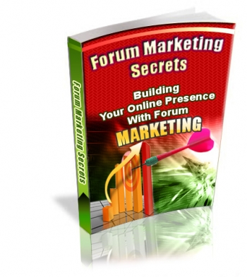 Forum Marketing Secrets - PLR