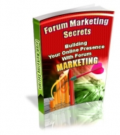 Forum Marketing Secrets - PLR Private Label Rights