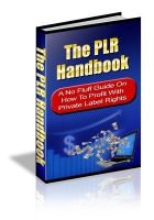 The PLR Handbook Private Label Rights