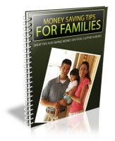 Money Saving Tips For Families Private Label Rights