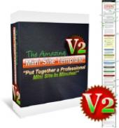 The Amazing Mini Site Template V2 Private Label Rights