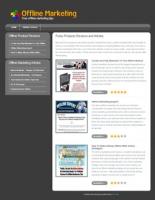 Offline Marketing Niche Site Private Label Rights