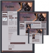 Fashion Themed Wordpress, Blogger and HTML Templates Private Label Rights
