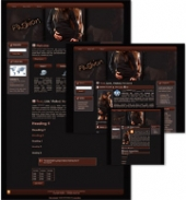 Fashion Themed Wordpress, Blogger and HTML Templates 2 Private Label Rights