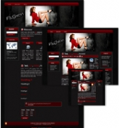 Fashion Themed Wordpress, Blogger and HTML Templates 3 Private Label Rights