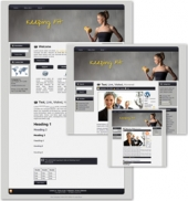 Keeping Fit Themed Wordpress, Blogger and HTML Templates 2 Private Label Rights